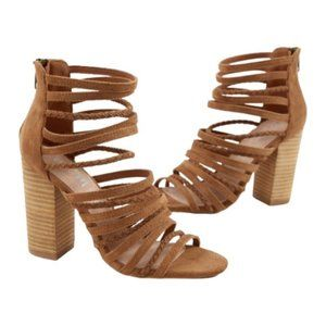 Mi.iM Frida Stacked Wood Heels - Size 7.5